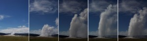 Old-Faithful Erupting